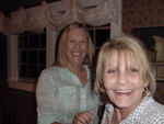 This is Jane Fleming Cofer and Lorraine Lippert Guidugli.  Jane lives in the area.  Lorraine hails from Kentucky and was the spark for making this reunion happen.