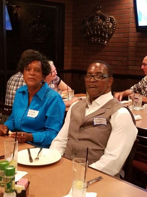 Lynda Harvey Byrd and  Curtis Sims