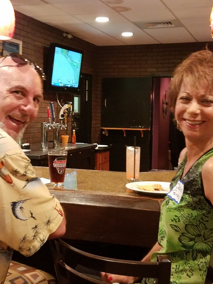 Glenn Markos and Debbie Romano Perron