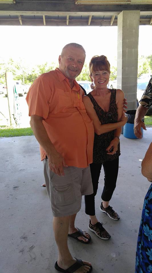 Michael Ricky Turner and Vicki Burdick Clark (Class of 1972)