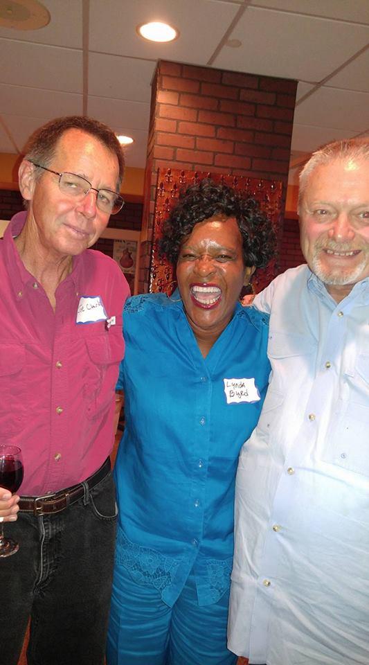 Joe Clark, Lynda Harvey Byrd and Michael Ricky Turner